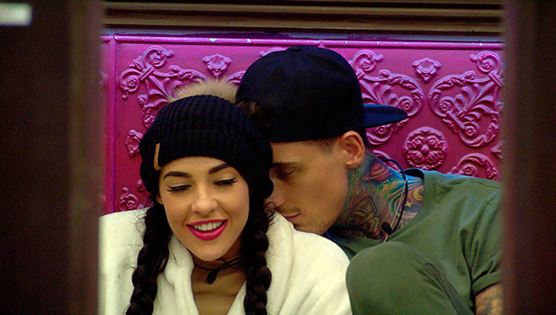 CBB: Stephanie and Jeremy in the house. 11 January 2016