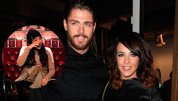 Stephanie Davis and Sam Reece at the Belstaff Store Launch - 1 October 2015. Inset: Stephanie on CBB