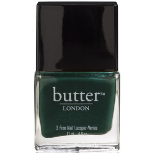 Butter London nail lacquer in British Racing Green £12, 19th January 2016