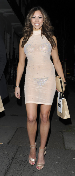 Model Pascal Craymer attends Rachel Christie's Going For Gold Magazine launch party in London, 20th January 2016
