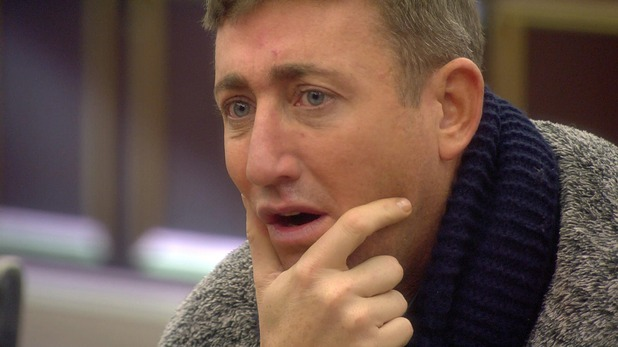 CBB: Christopher Maloney in the house. 19 January 2016.