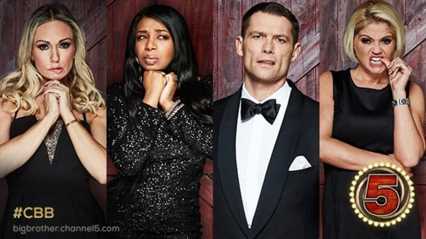 CBB: John Partridge, Kristina Rihanoff, Tiffany Pollard and Danniella Westbrook face the third public vote. 18 January 2017.