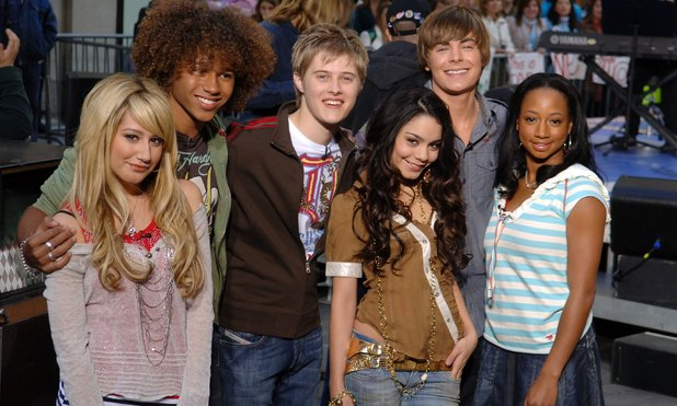 High School Musical cast on NBC's Today Show, New York March 2006