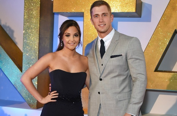 Jacqueline Jossa (L) and Dan Osborne attend the 21st National Television Awards at The O2 Arena on January 20, 2016 in London, England. (Photo by David M. Benett/Dave Benett/Getty Images)