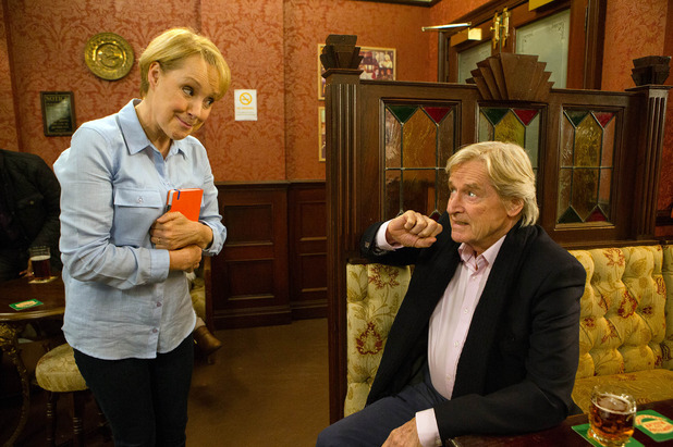 Corrie, Sally ropes Ken into her campaign, Fri 22 Jan