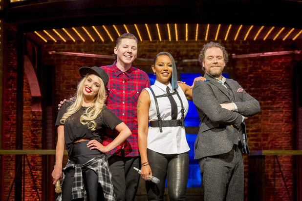 Lip Sync Battle UK, Professor Green, Jorgie Porter, Mel B, Rufus Hound, Fri 22 Jan