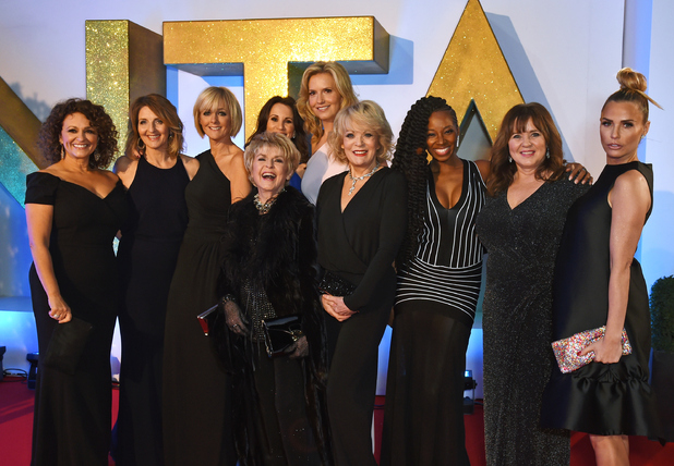 Loose Women panellists attend the 21st National Television Awards at The O2 Arena on January 20, 2016 in London, England.