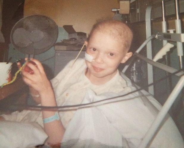 Sophie Hartley survived bone cancer