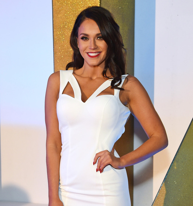 Vicky Pattison on the red carpet at the National Television Awards (NTAs) in London, 21st January 2016