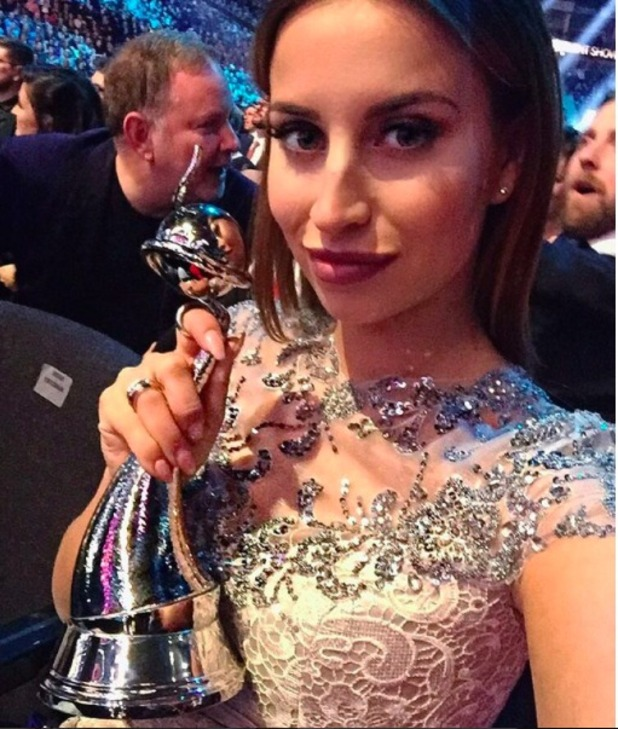 Ferne McCann at the NTAs, January 2016.