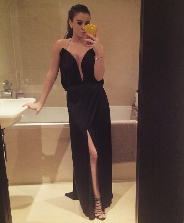 brooke vincent blog  finding a dress for the national