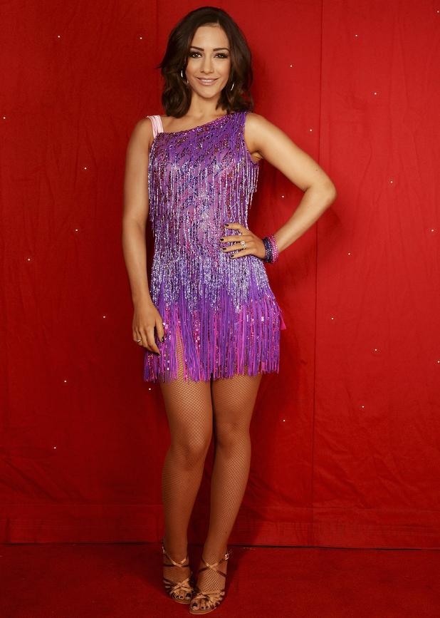 Frankie Bridge, Strictly Come Dancing tour rehearsals, Birmingham