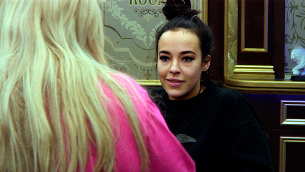 CBB Day 13:  Stephanie Davis argues with Gemma Collins