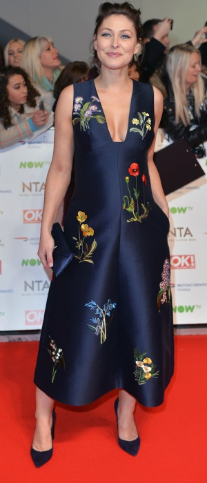Emma Willis attends the 21st National Television Awards at The O2 Arena on January 20, 2016 in London, England. (Photo by Anthony Harvey/Getty Images)