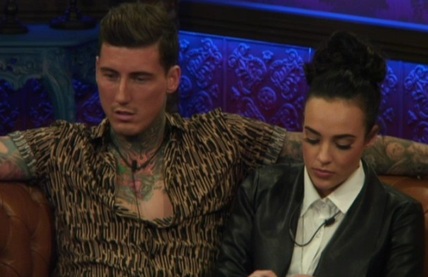 CBB: Stephanie and Jeremy talk to Scotty during face to face nominations on Day 15