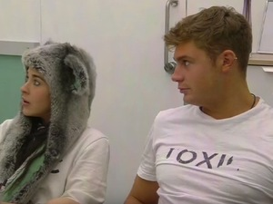 CBB: Stephanie Davis, Scotty T in the toxic clinic. 27 January 2016.