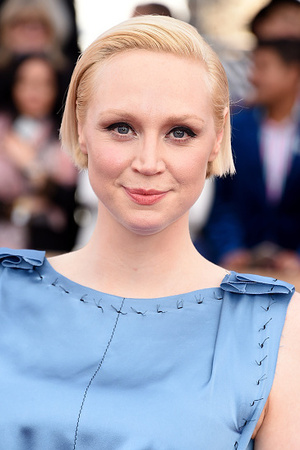 Gwendoline Christie attends the 22nd Annual Screen Actors Guild Awards at The Shrine Auditorium on January 30, 2016 in Los Angeles, California