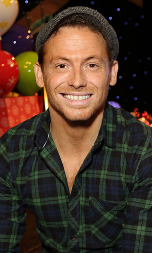 Joe Swash at the London Taxi Drivers Fund 'Mad Hatters Tea Party' - 17 January 2016.
