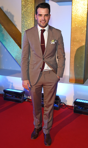 Ricky Rayment attends the NTAs 2016, London 20 January