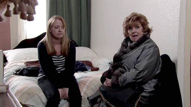 Corrie, Rita tracks down Jenny, Wed 27 Jan