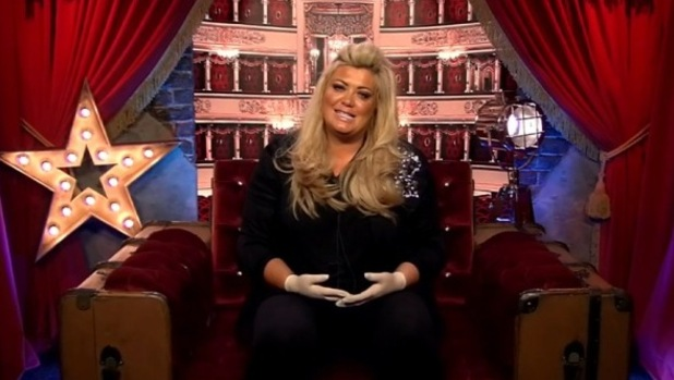 CBB: Gemma Collins in the Diary Room answering viewers' questions. 28 January 2016.