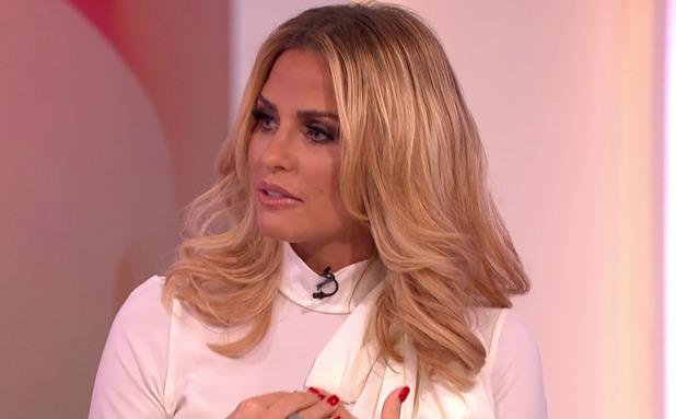 Katie Price appears on Loose Women, ITV 27 January