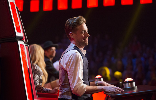 The Voice UK blind auditions - Ricky Wilson. 23 January 2016.
