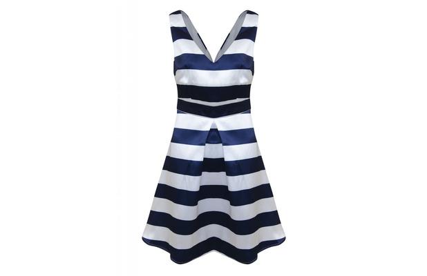 AX Paris V Neck Striped Skater Dress, £45