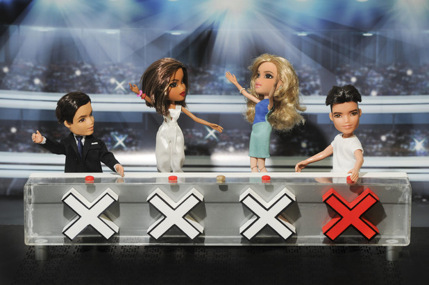 Bratz recreate Britain's Got Talent judges for 10th Anniversary