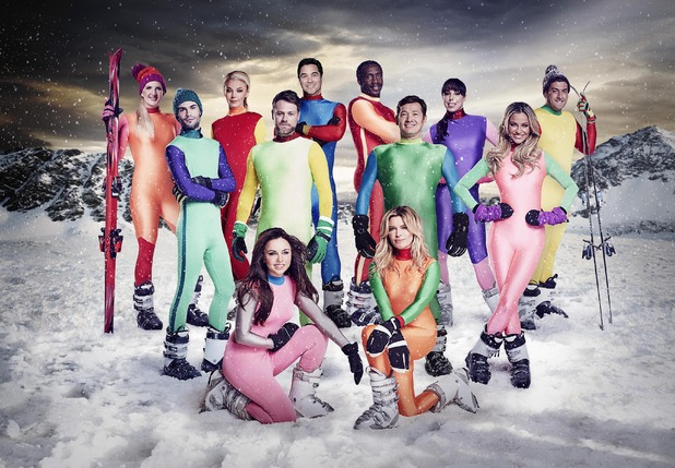 The Jump, full celeb line up, Sun 31 Jan