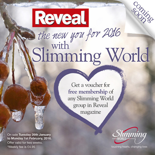 Slimming World exclusive offer! Save £10 – only for Reveal ...