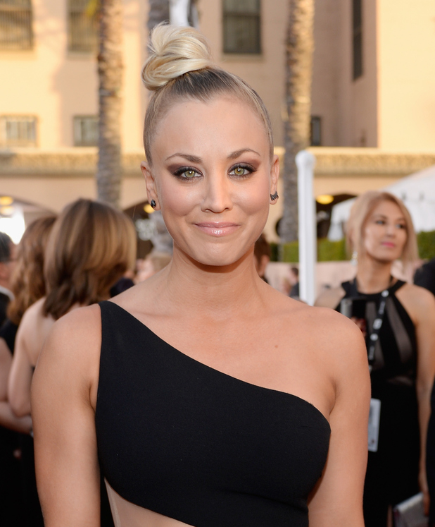 Kaley Cuoco attends the 22nd Annual Screen Actors Guild Awards at The Shrine Auditorium on January 30, 2016 in Los Angeles, California
