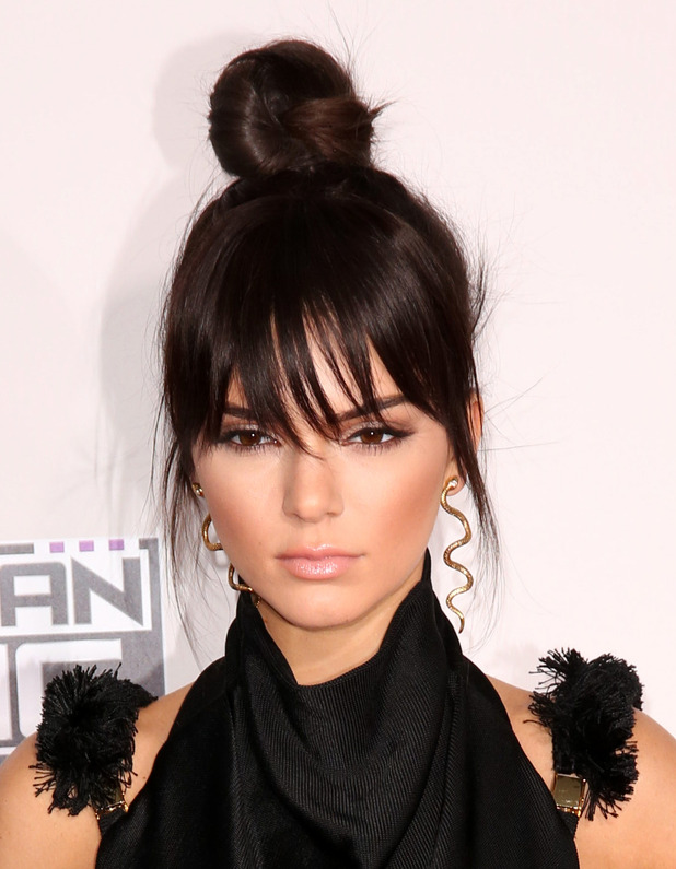 Kendall Jenner, Celebrities attend 2015 American Music Awards at Microsoft Theater, 22 November 2015