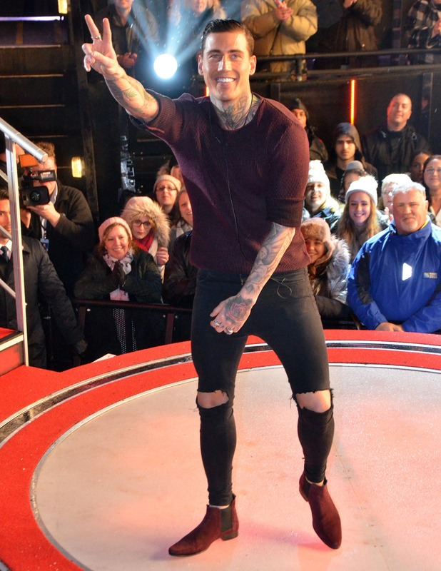 Jeremy McConnell leaves CBB house, 29 January 2016.