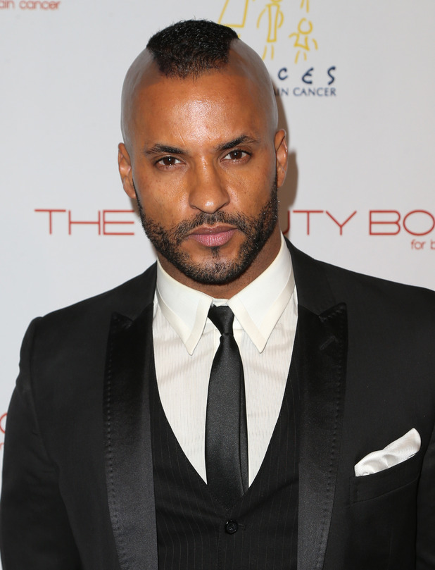 Ricky Whittle at The Beauty Book For Brain Cancer' Edition Two Launch Party - December 2015.