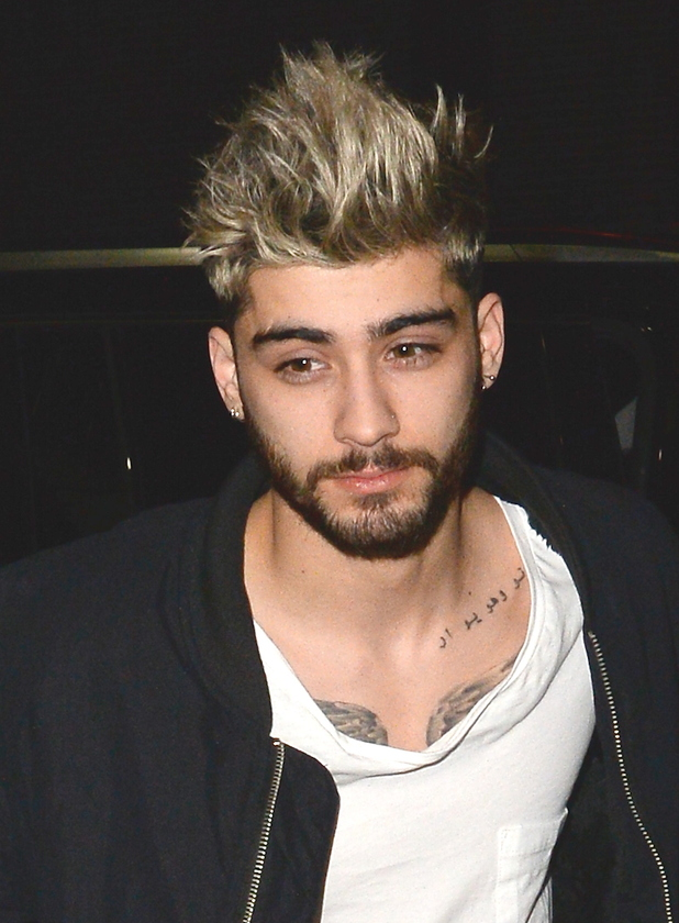 Zayn Malik in Soho on January 5, 2016 in New York City.