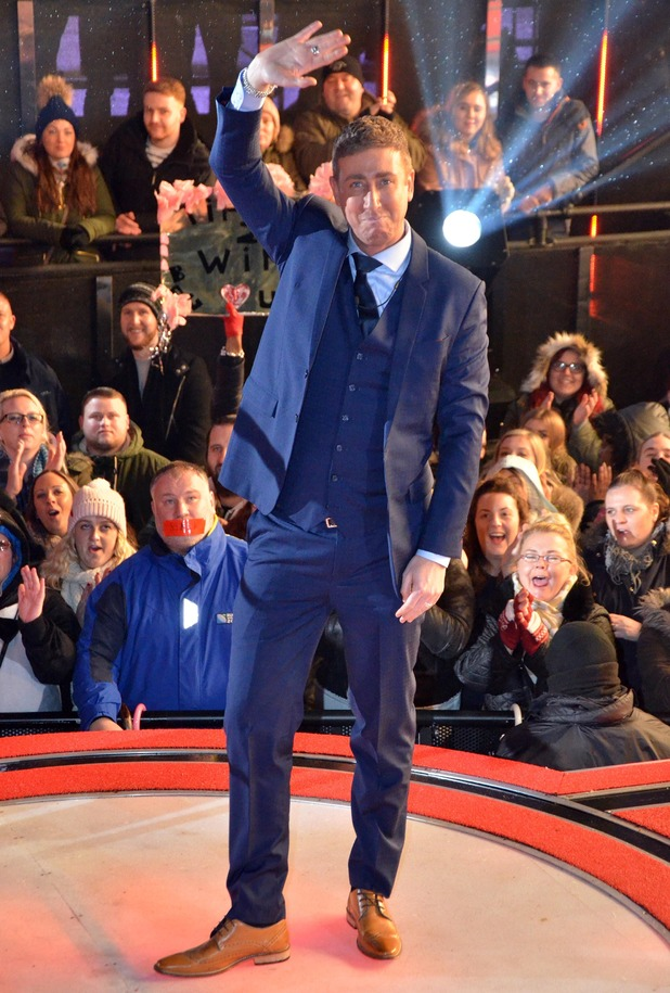 CBB: Christopher Maloney gets evicted from the house. 26 January 2016.