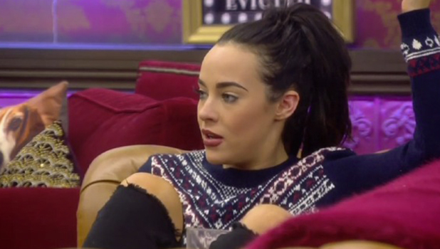 CBB Day 20: Stephanie tells Jeremy she'd be upset if he was evicted. 25 January 2016