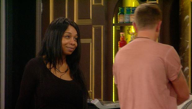 CBB Day 19: Tiffany and Darren talk in the kitchen