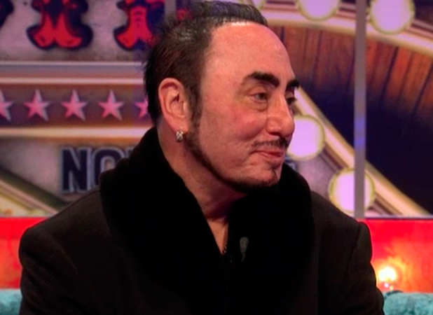 CBB BOTS: David Gest gives his first interview since quitting because of illness 25 January 2016