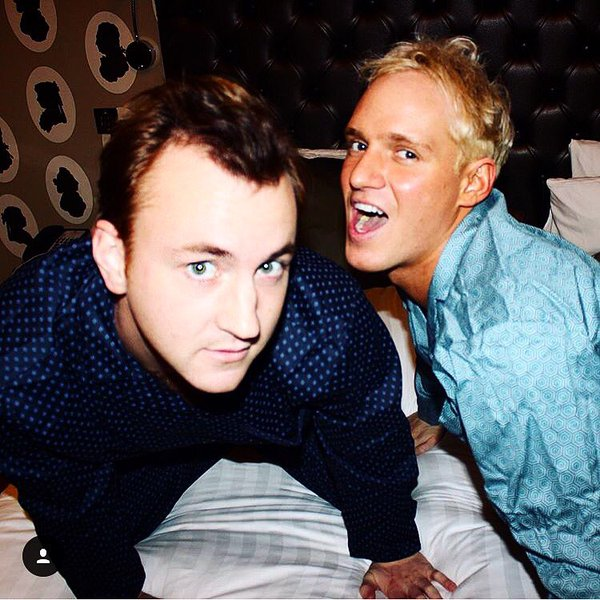 Francis Boulle films In Bed With Jamie. 22 January 2016.