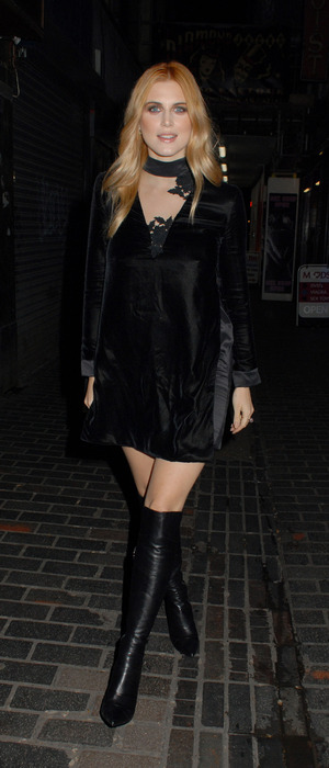 Ashley James attends Louis XIII 100 Years Film Screening in London, 3rd February 2016