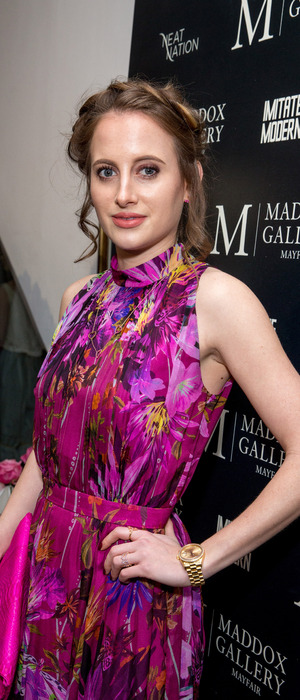Made In Chelsea's Rosie Fortescue attends the Tyler Shields: Decadence event in London, 4th February 2016