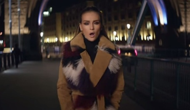 Perrie Edwards in Little Mix video for Secret Love Song 3 February
