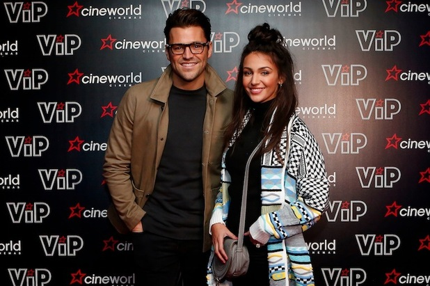 Mark Wright and Michelle Keegan enjoy a date night at Cineworld in Sheffield, 2nd February 2016