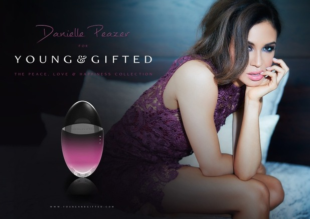 Danielle Peazer launches her Young and Gifted collection, January 2016
