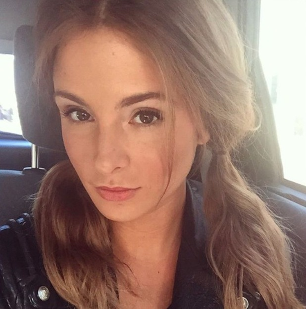 Made In Chelsea's Millie Mackintosh takes to Instagram to show off her pigtails, 2nd February 2016