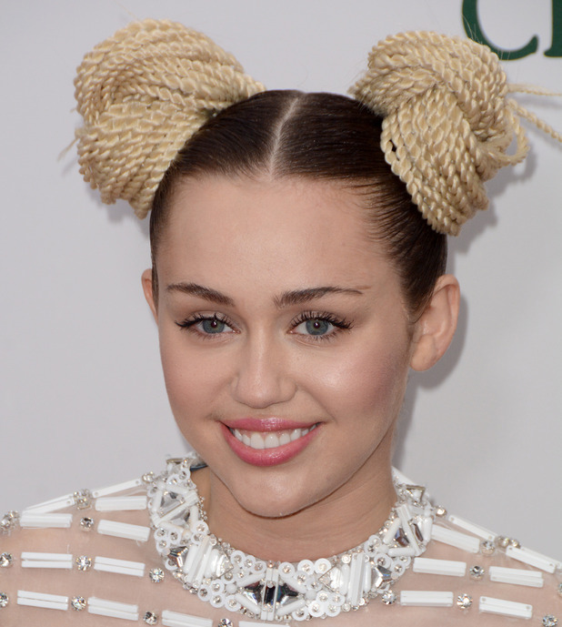 "Miley Cyrus, ""A Very Murray Christmas"" New York Premiere - Red Carpet Arrivals, 2 December 2015"