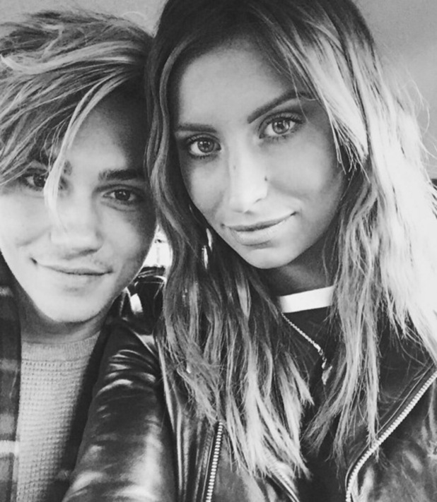 Ferne McCann and George Shelley, Instagram 3 February