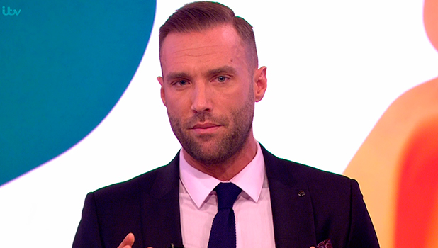 Calum Best talks about his father George Best's addiction to alcohol on 'Loose Women'. Broadcast on ITV1 HD